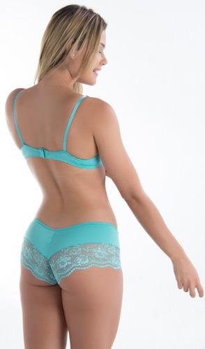 lote 15 soutien e calcinha de renda lingerie revenda atacado