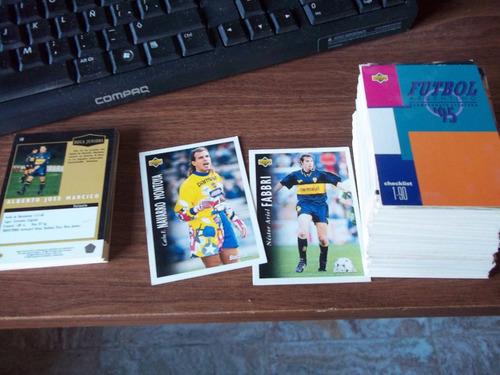 lote 157 figuritas cards tarjetas futbol 95