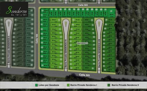 lote 161 y 501 (senderos) mza. d- lote 6
