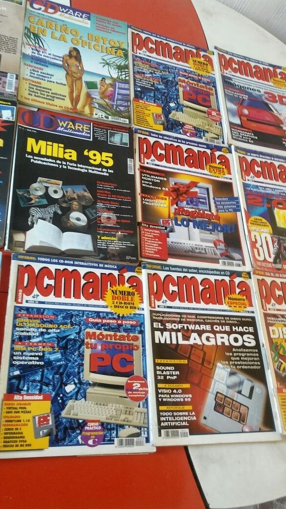 lote 17 revistas pc mania cd ware computacion antiguas. Cargando zoom. 08fec7df35f