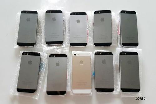 lote 18 iphone 5s 32gb importado novo