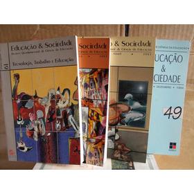 Lote 18 Livros Educaçao E Sociedade Ciencias Otimo Estado