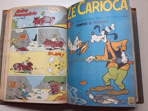 lote 19 revistas pato donald zé carioca do 583 ao 621 - 1963