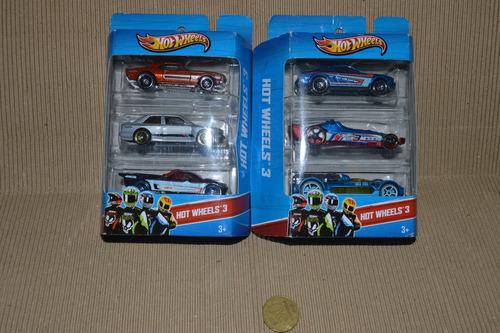 lote 2 blisters hot wheels nuevos, oferta !