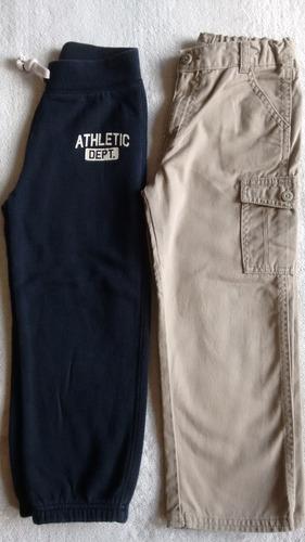 lote 2 calças usadas, menino,excelente estado, 5 anos