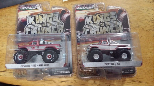lote 2 camionetas king of crunch ford