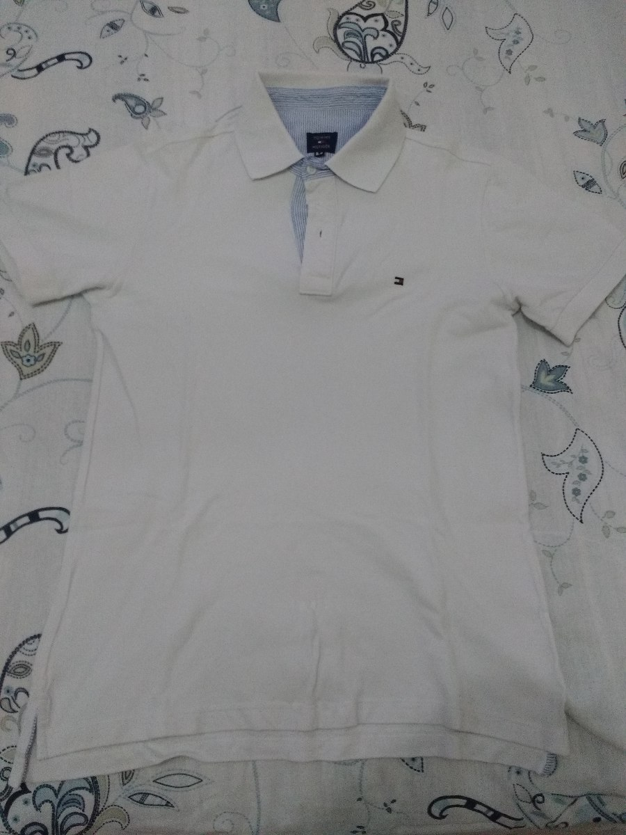5539b704a33c1 Lote 2 Camisa Gola Polo Tommy Hilfiger - R  79