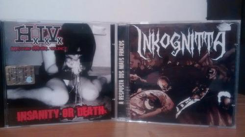 lote 2 cds hardcore punk al precio de 1