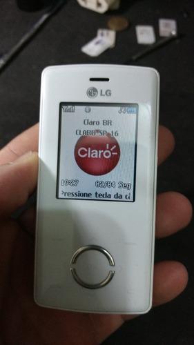 lote 2 celulares lg mg280 chocoligth claro 1/18