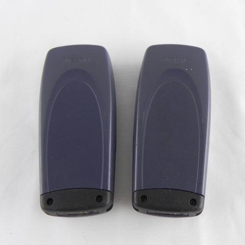 lote 2 celulares nokia 1220 retirada de peças