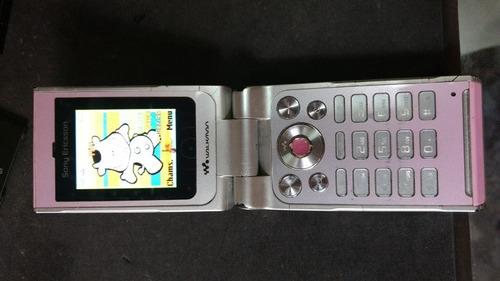 lote 2 celulares sony ericsson w380i 12/17