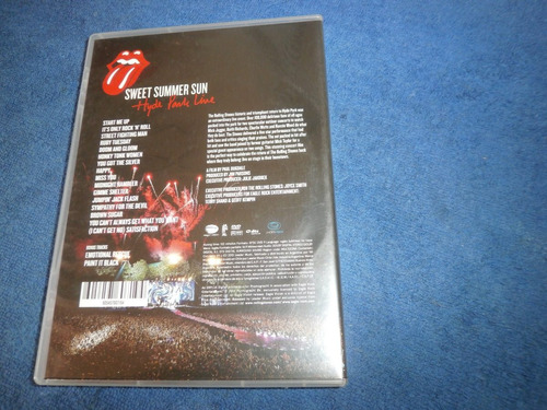lote 2 dvd´s rolling stones sweet summer sun + fito paez rex