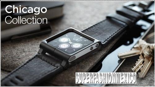 lote 2 extensible cuero ipod nano touch 6 g edicion chicago