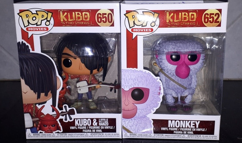 lote 2 funko pop kubo and two strings en la plata