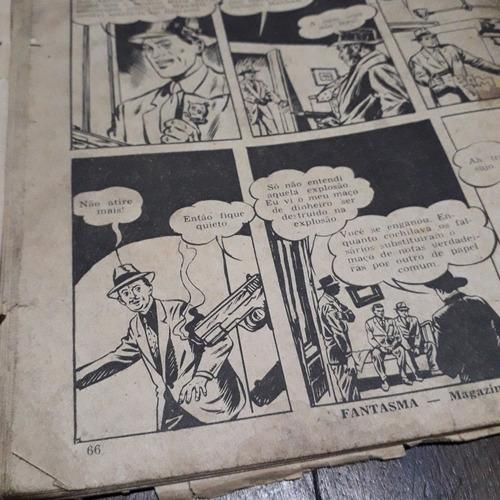 lote 2 gibis antigos o fantasma magazine