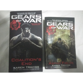Lote 2 Livros Gears Of War