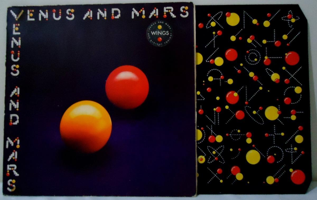 Lote 2 Lps Vinil Paul Mccartney & Wings Venus Mars Back Egg