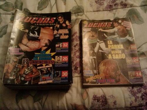 lote 2 luchas 2000 x-law y hamada 2 súper luchas de los 2000