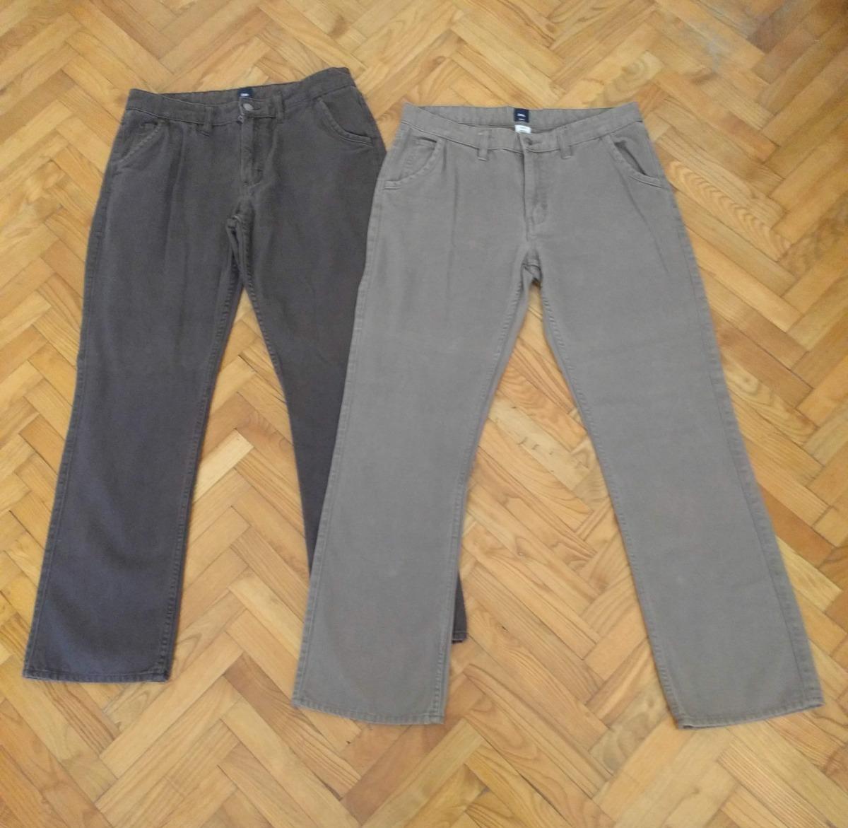 Para 2 Vestir De En 00 Gap Hombre Lote Mercado Pantalones 850 xnpICqW
