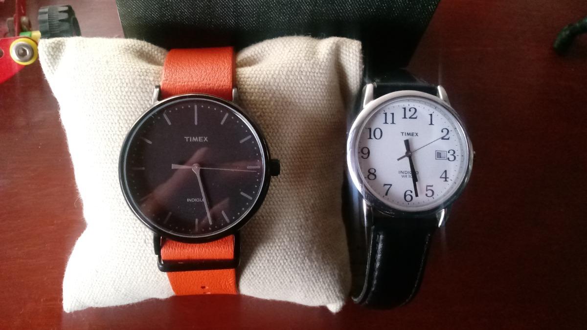 0df5ce8dda00 lote 2 reloj timex indiglo originales - demon games store. Cargando zoom.