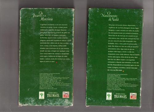 lote 2 vhs amazônia indomável - volume 2 e 3