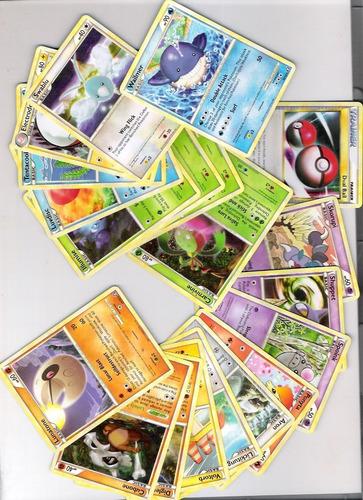 lote 20 cartas pokemon hs triumphant