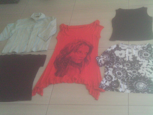 lote 20 peças roupas usadas femininas diversos tamanhos