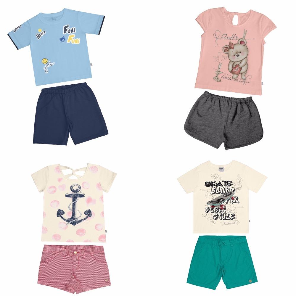55b88ee79b lote 20 roupas verão menino menina oferta 01 a 14 anos. Carregando zoom.