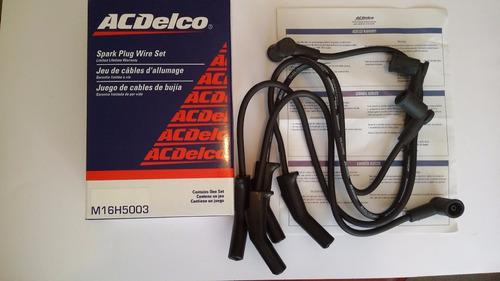 lote 22 juegos cables de bujías acdelco para ford chevrolet