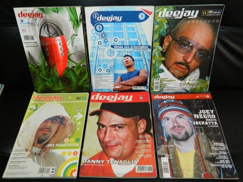 lote 22 revistas deejay magazine españa dance trance house