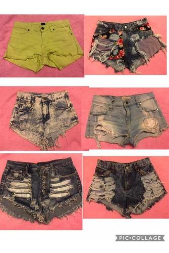 lote 22 shorts de jean nuevos o usados buen estado