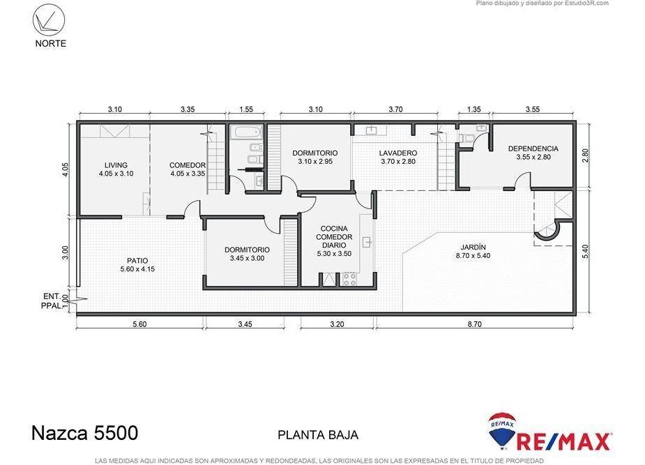 lote 229 m2 en v. pueyrredón 571 m2 construibles