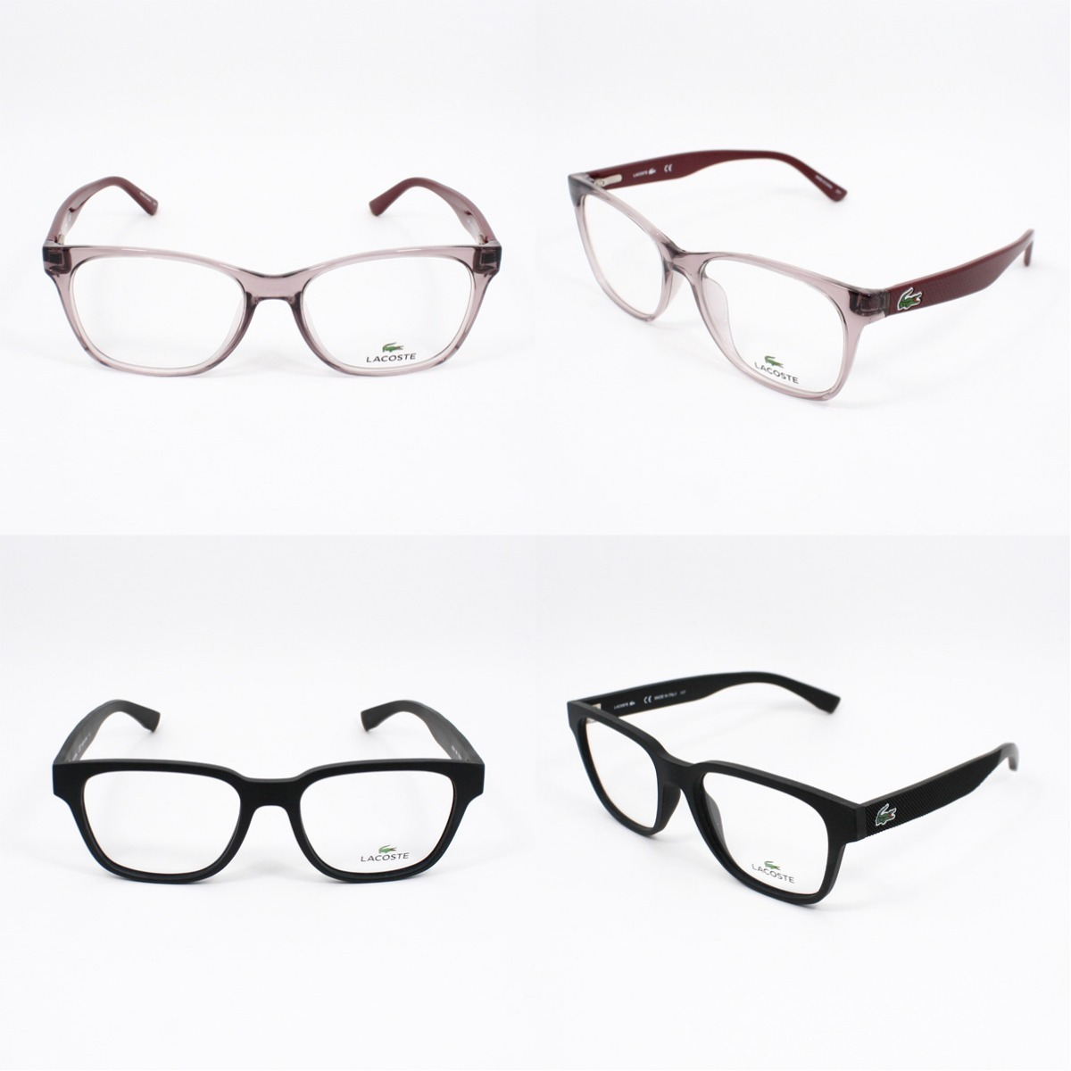 3538f13c38e3d Lote 23 Armações Óculos Lacoste Receituário - Original - R  6.219