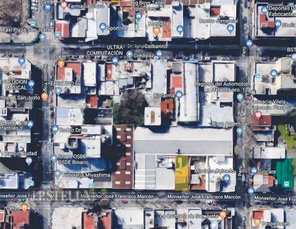 lote 230 m² (10x23) ideal emprendimiento comercial, viviendas o oficinas - s.justo (ctro)