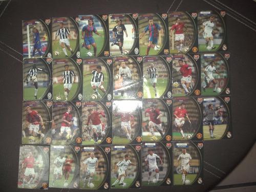 lote 24 tarjetas upper deck 93-94 futbol
