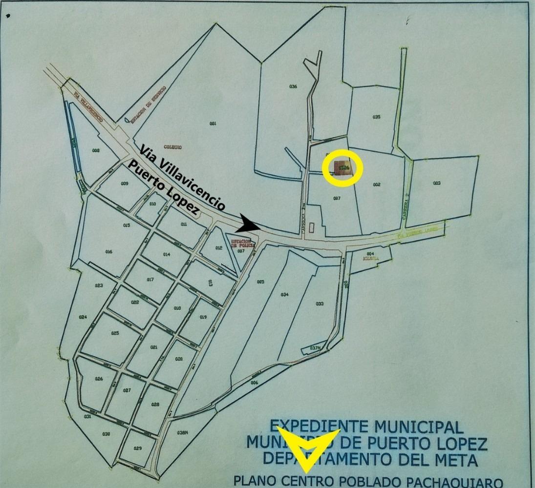 lote 240 m2 pachaquiaro puerto lopez $24.000.000 oportunidad