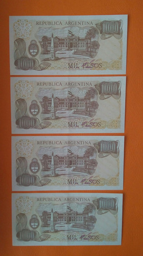 lote 25 billetes argentinos ley 18.188 sin circular  ua-unc