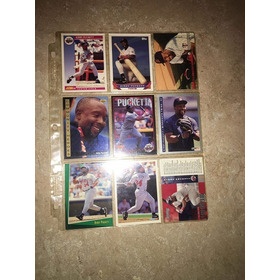 Lote 27 Tarjetas Diferentes Kirby Puckett Twins World Series