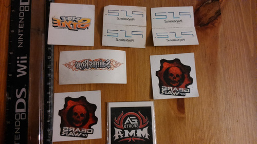 lote #3 9 tatuajes saint row, gears of war, psp, free style