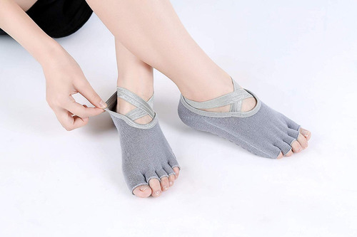 lote 3 calcetines pro antiderrapantes para yoga o pilates