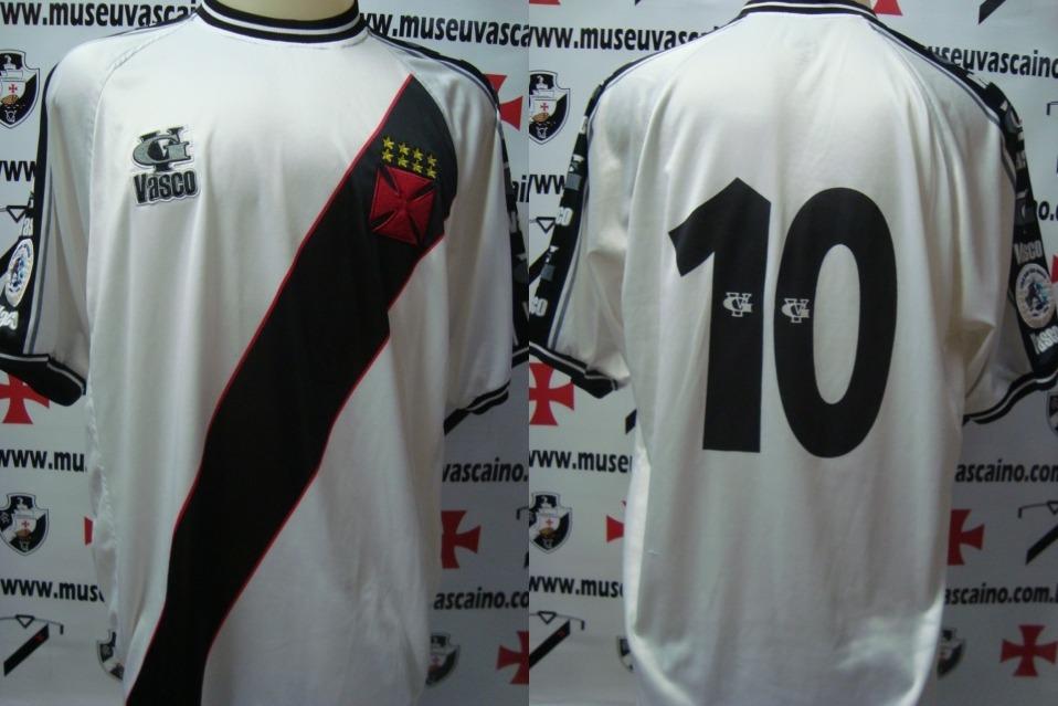 lote 3 camisa vasco da gama de jogo - vg patch rj sp 2001. Carregando zoom. 6801e630a8cea