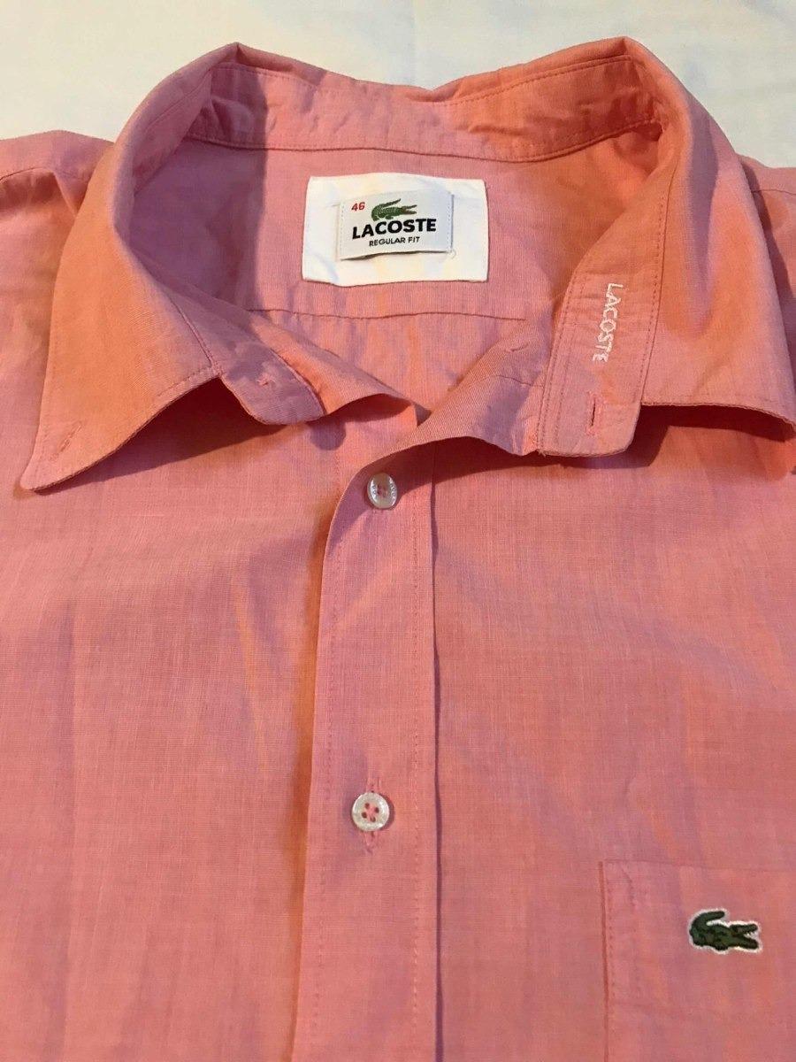 3 Lote Camisas Originales Usadas3 Lacoste 00 Cortas Mangas 600 vN0nm8w