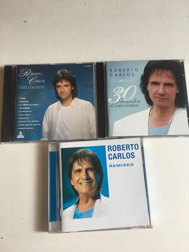 lote 3 cds roberto carlos