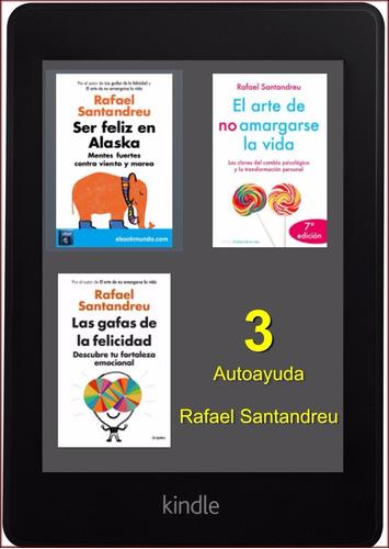 lote 3 ebook de rafael santandreu (autoayuda)
