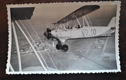 lote 3 fotos antigua aviación aviones militaria avro 626