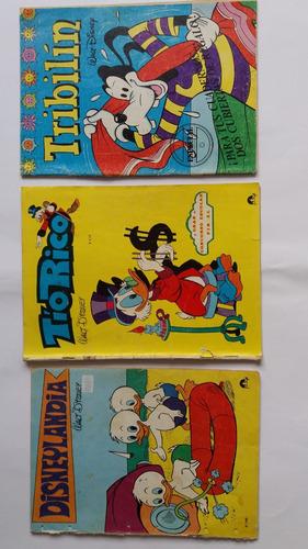 lote 3 historietas usadas disney. pinsel 1975-1976-1980