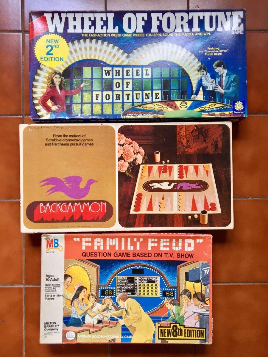 Lote 3 Juegos De Mesa Antiguos Vintage Anos 70s Y 80s 450 00 En