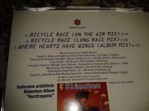 lote 3 maxi-cd singles - cover queen/freddie mercury - dance