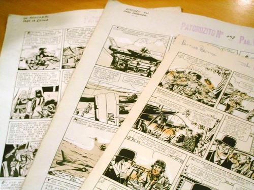 lote 3 originales impresion patoruzito historietas