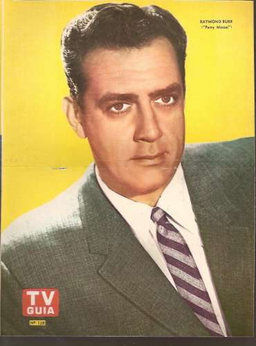 lote 3 posters perry mason - raymond burr (014) ray collins